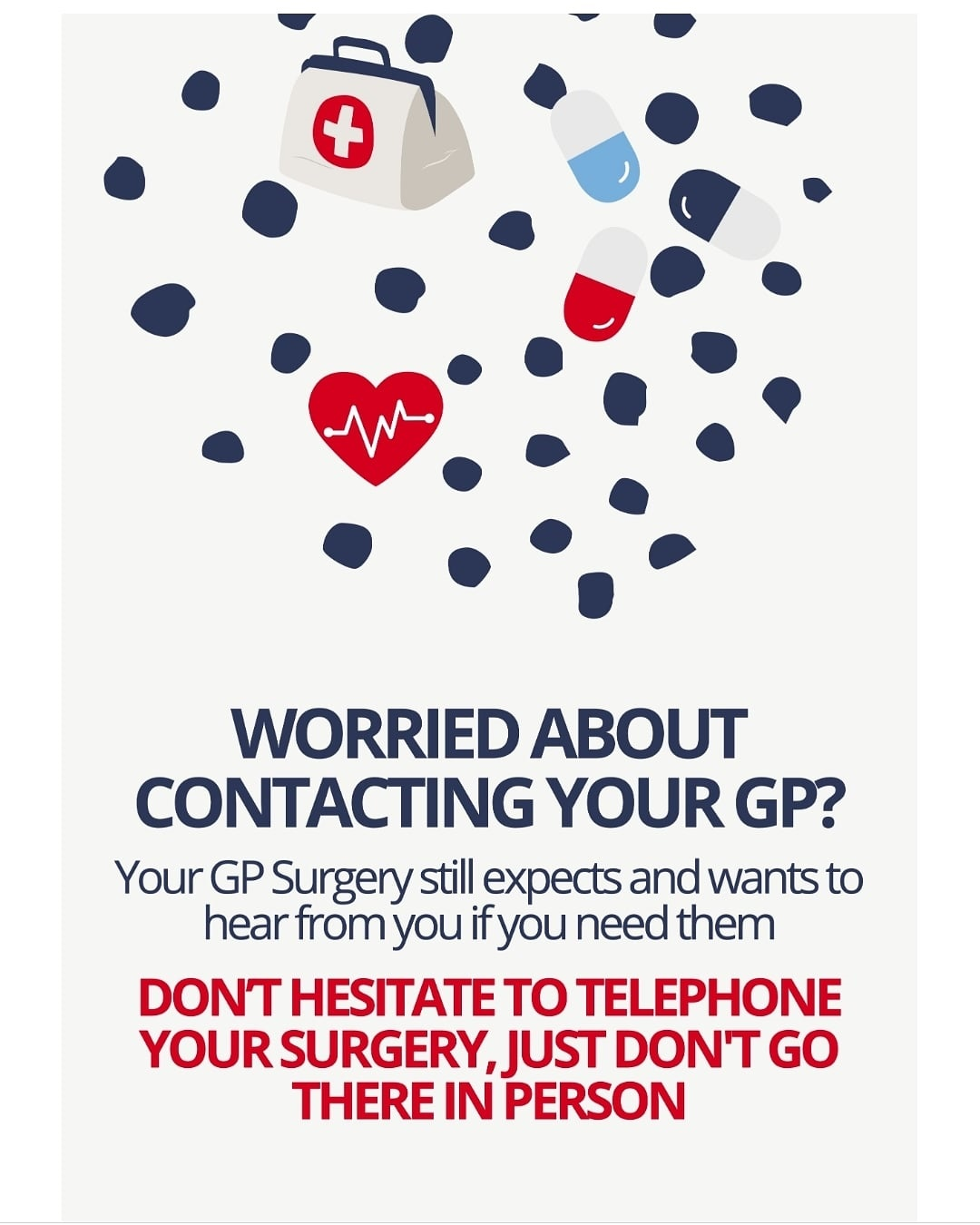 Worried about contacting your GP?